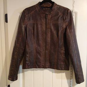 Maurice's Leather Moto Jacket